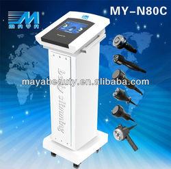 MY-N80C 6in1 2012 best cavitation slimming machine/tripolar vacuum cavitation machine beauty machine(Ce certification)