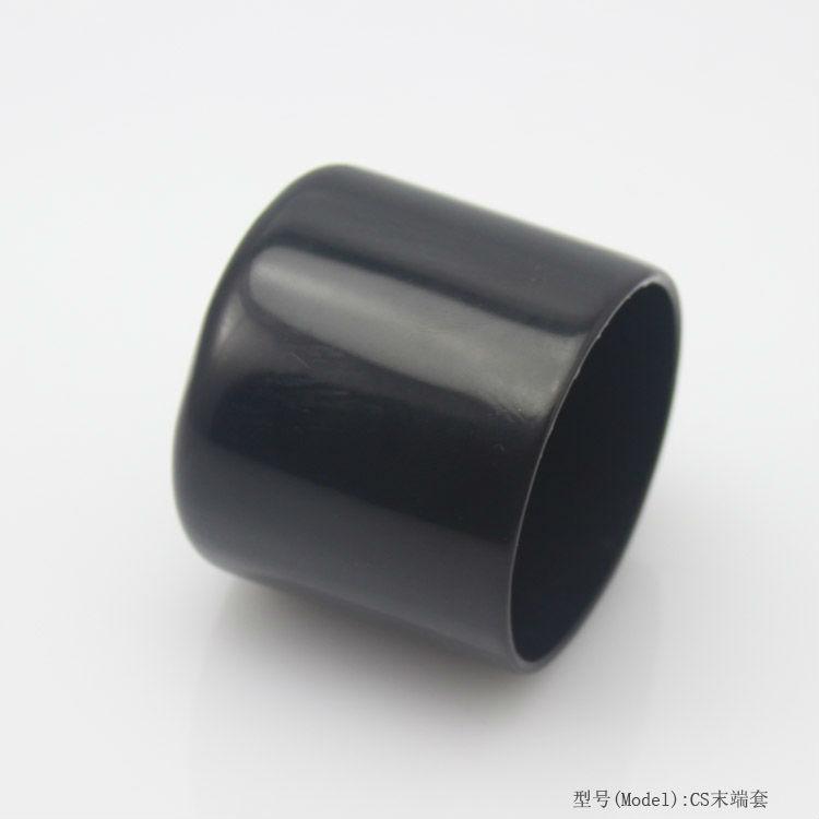 Aluminum pipe threaded caps