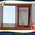 Ouvrant vers l'intérieur en aluminium fenêtre à auvent en aluminium des portes et fenêtres sont conformes avec as2047 as2208& ass1288