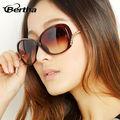 Cuentas reales de honor gancho gafas de sol gradiente de lujo femeninos 3201