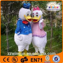 Pato donald y daisy duck traje