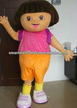 Dora the explorer cartoon character diego, boots monkey, swiper & dora mascot costume party