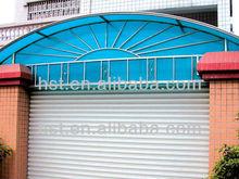 100% Lexan pc sunshine sheet / plastic roof manufacture