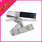 Ladies Fashion Wide Stretch Sequin Beaded Belt