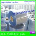 1377 suave del pvc transparente de plástico de la película en rollo