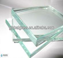 di alta qualità 6mm extra chiaro vetro float basso contenuto di ferro vetro prezzo