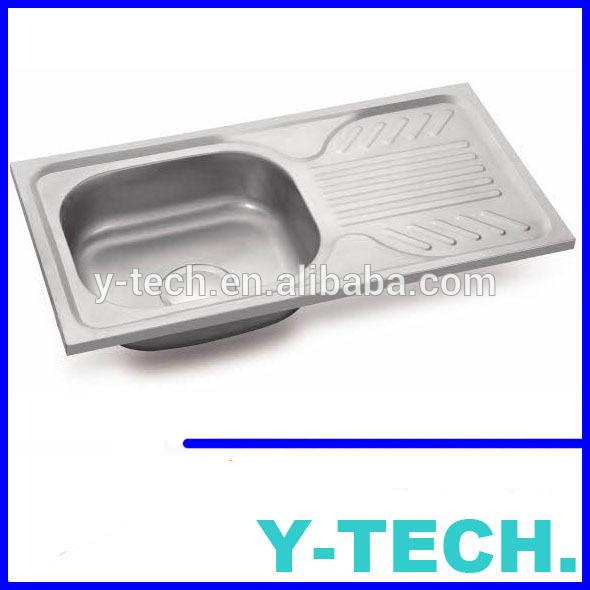 el ecuador del fregadero de cocina de acero inoxidable yk7540al