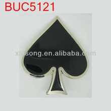 BUC5121 BLACK JACK BELT BUCKLE