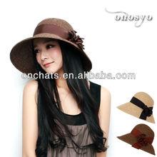 [Onosyo] WX-S035 new ladies' summer paper straw hat