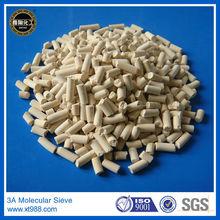 Zeolite pellet 3a molecular sieve methanol