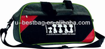 2014 Fashion 400D Wash Nylon Shoulder Travel Bag