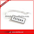 Fashion Plastic Seal Tag For Jewelry And Garment