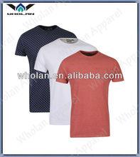 2014 Wholan hot sale short sleeve plain mens tshirts manufacturer cotton o-neck tshirt men