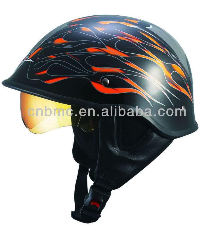 New style half helmet with visor