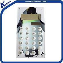8 Digital Pocket Solar Calculator