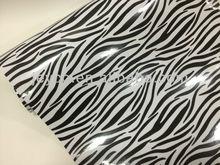 NEW!!! 3D Zabra vinyl, zebra car used vinyl wrap, 1.52*30 meter