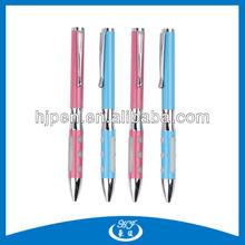 Lovable Hot Pink Metal Pen, Lovers Pen