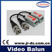Male cctv single channel passive video balun