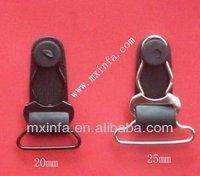 Metal garter clip