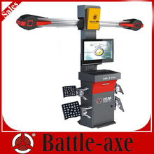 2014 hot model 3d car wheel alignment 3D-708X equipped with 13-24 clamps