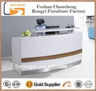 2014 Factory price cheap small modern beauty salon reception desk furniture