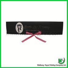 oem design wig packaging box, hair labels and packaging