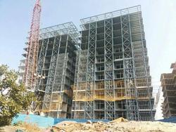luxury prefabricated steel apartment
