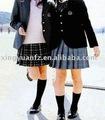 Hiver école secondaire fille Blazer et jupe plissée uniforme