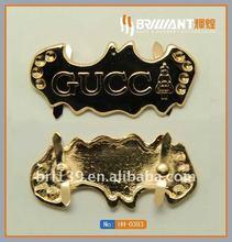fancy logo Inserted buckle