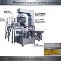 automático de pipoca de microondas máquina de embalagem
