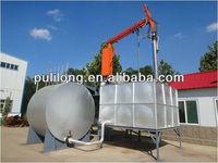 quick train oil tank unloading installation
