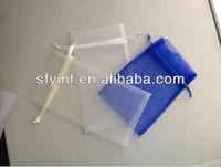 cheap china organza drawstring pouch/bag