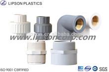 PVC Female Socket Male Adapter Threaded Nippple Union PVC Pipe Fittings