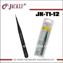 JK-T1-12,Ultra fine point tweezers,CE Certification.