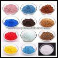 marrom de zinco em pó de coloração