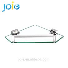High Quality Bathroom Tempered Glass Wall Shelf With Tower Bar