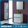 Hangzhou New Design Bathroom Freestanding Cabinet Glass Washing Basin Bathroom Vanity PVC Canada Bathroom Cabinet