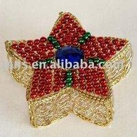 Star Shape Wire Box GR52573