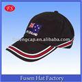 black algodão de 6 painéis sailor chapéu chapéu de basebol