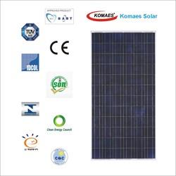 300W Solar System Solar Module Solar Panel with TUV IEC MCS INMETRO IDCOL SONCAP Certificate (EU Antidumping Duty-Free)
