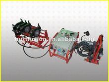 Shengda/BADA SHD160/63 plastic butt welder for welding PE pipes