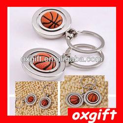 OXGIFT Basketball Metal Key chain