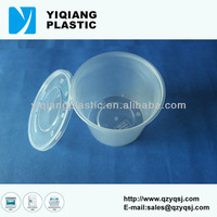 Disposable high temperature plastic containers