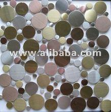 pebble stainless steel tile