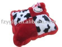 Plush baby cushion, plush animal cushion pillow
