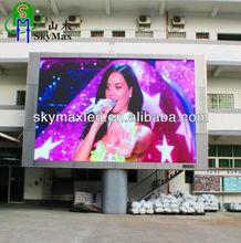P10 outdoor rental HD video advertising led display