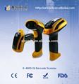 Industriales de mano de 2d escáner de código de barras x-4600