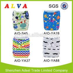 2014 Hot Sale Alva How to Use Cloth Diapers Baby Fine Diaper Sleepy Baby Diaper