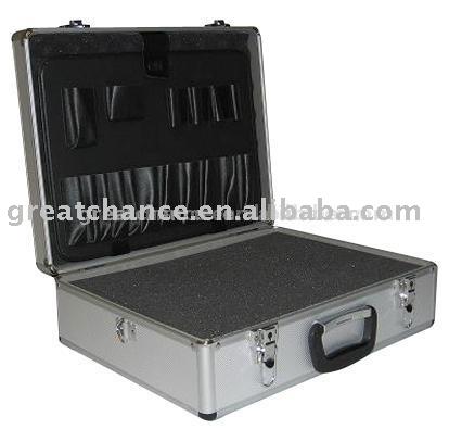 Hight quality fashion custom design aluminum case(XY-809)