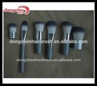 professional makeup kit,name brands face powder,flat top brush